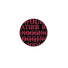 Rather be blogging Mini Button