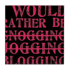 Rather be blogging Tile Coaster
