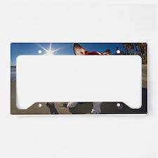 Time Traveler License Plate Holder