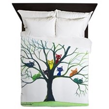Eau Claire Stray Cats Queen Duvet