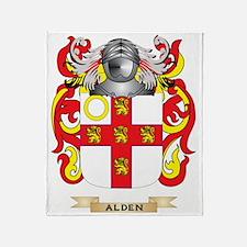 Alden Coat of Arms Throw Blanket