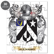 Alejandro Coat of Arms Puzzle