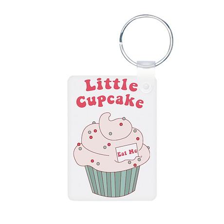 Little Cupcake Aluminum Photo Keychain