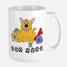 Pet Vet Tech Large Mug