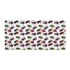 bugs bugs bugs everywhere Beach Towel