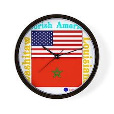 Moorish American_Washitaw Logo Wall Clock