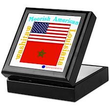 Moorish American_Washitaw Logo Keepsake Box