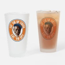 Eat Em Up Tigers Drinking Glass