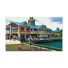 Nassau Bahamas Rectangle Car Magnet