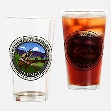 CCC Alumni Logo Planting Drinking Glass