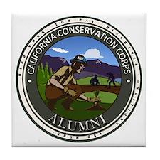 CCC Alumni Logo Planting Tile Coaster