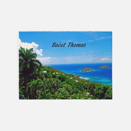 St. Thomas 5'x7'Area Rug
