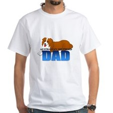 Australian Shepherd Dad Shirt