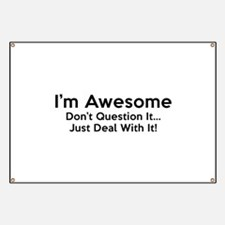 I'm Awesome Banner