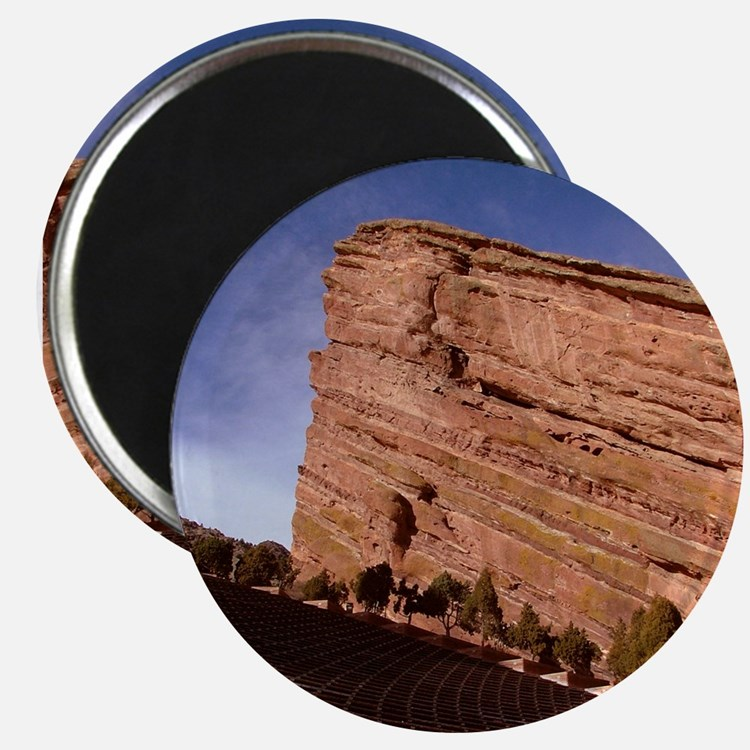 Red Rocks Magnet