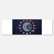 European Space Agency Bumper Bumper Bumper Sticker