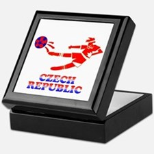 Czech Soccer Player Keepsake Box