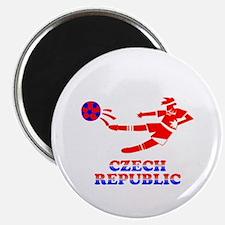 """Czech Soccer Player 2.25"""" Magnet (10 pack)"""
