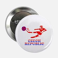 """Czech Soccer Player 2.25"""" Button (10 pack)"""