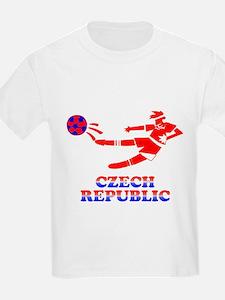 Czech Soccer Player T-Shirt