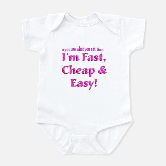 Fast Cheap & Easy Infant Bodysuit