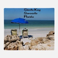 Siesta Key Throw Blanket