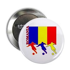 """Romania Soccer 2.25"""" Button (10 pack)"""