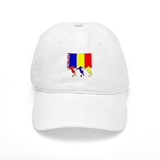 Romania Soccer Baseball Cap