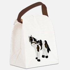Pony Canvas Lunch Bag