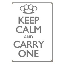 Keep Calm and Carry One Banner