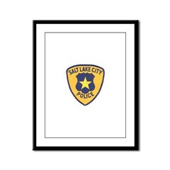 Salt Lake City Police Framed Panel Print