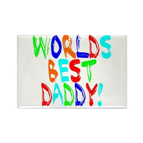 World's Best Daddy Rectangle Magnet (10 pack)