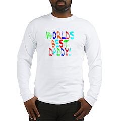 World's Best Daddy Long Sleeve T-Shirt