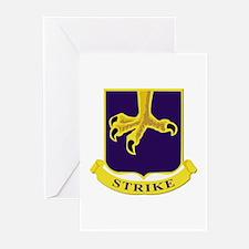 DUI - 1st Battalion - 502nd Infantry Regiment Gree