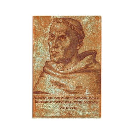 Luther the Monk Rectangle Magnet (100 pack)
