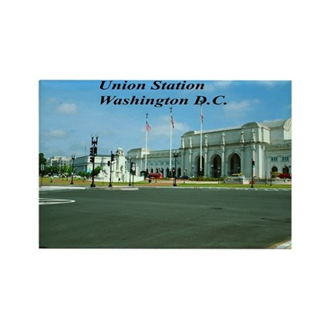 Union Station Rectangle Magnet
