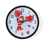 Cheerleading clock Basic Clocks