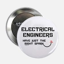 "Electrical Engineers Sparks 2.25"" Button (10 pack)"
