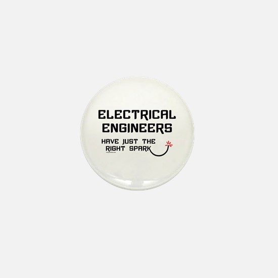 Electrical Engineers Sparks Mini Button (10 pack)