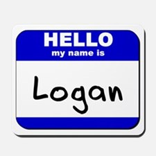 hello my name is logan  Mousepad