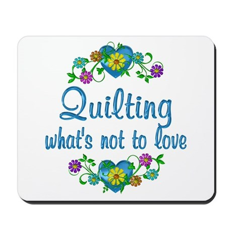 Quilting to Love Mousepad