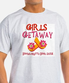 Girls Getaway Bachelorette Bash 2014 T-Shirt