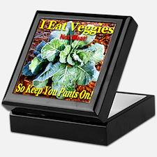 I Eat Veggies Keepsake Box