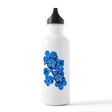 BlueHibiscusHonuTee Water Bottle