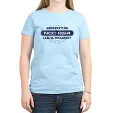 Property of USS Reliant (NCC-1864) (Blue/Grunge) T