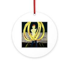 POI 2 Round Ornament