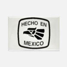 Funny Mexico city Rectangle Magnet