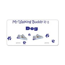moRE dog breeds Aluminum License Plate