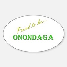 Onondaga Oval Decal