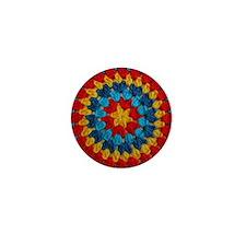 Circle Granny Mini Button